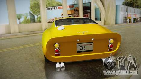 Ferrari 250 GTO (Series I) 1962 IVF PJ2 for GTA San Andreas side view