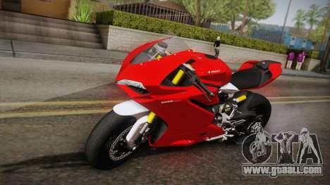 Ducati 1299 Panigale S 2016 for GTA San Andreas
