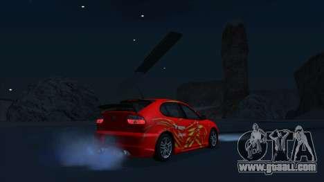 2003 Seat Leon Cupra R Series I for GTA San Andreas side view