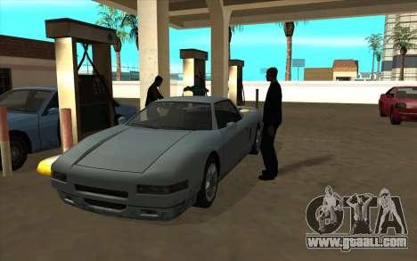 Life situation v6.0 - petrol Station for GTA San Andreas third screenshot
