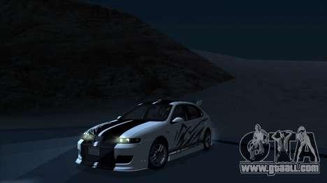 2003 Seat Leon Cupra R Series I for GTA San Andreas interior