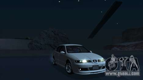 2003 Seat Leon Cupra R Series I for GTA San Andreas left view