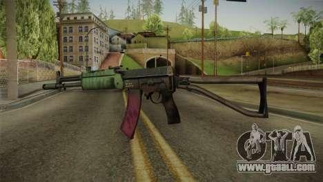 Battlefield 4 - AEK-971 for GTA San Andreas second screenshot