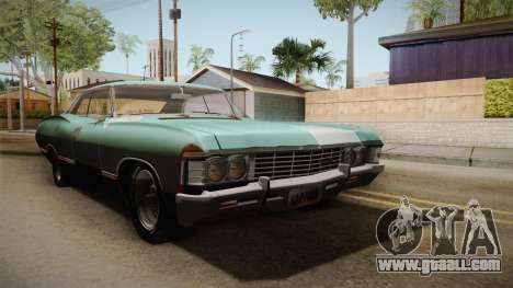 Chevrolet Impala 1967 for GTA San Andreas right view