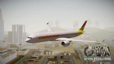 Airbus A350 Conviasa for GTA San Andreas back left view