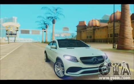 Mercedes-Benz GL63 for GTA San Andreas