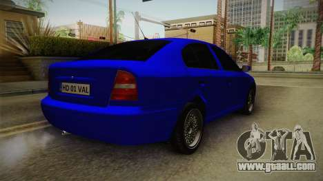Skoda Octavia Simply Clean for GTA San Andreas right view