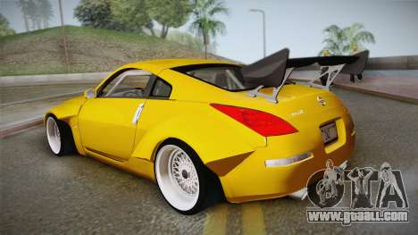 Nissan 350Z Rocket Bunny for GTA San Andreas left view