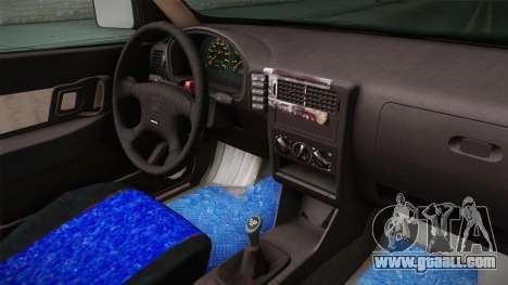 Seat Ibiza 1995 SWAP 1.6 for GTA San Andreas inner view
