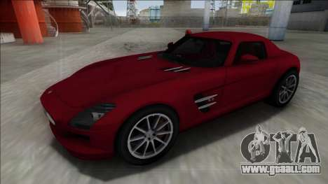2010 Mercedes-Benz SLS AMG FBI for GTA San Andreas