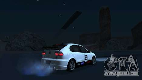 2003 Seat Leon Cupra R Series I for GTA San Andreas bottom view