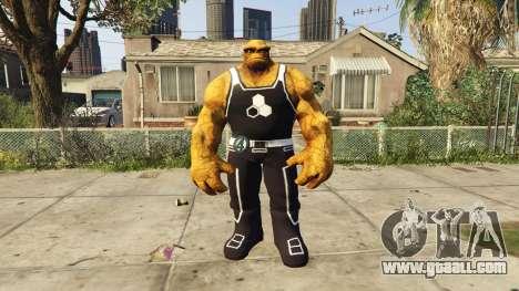 GTA 5 The Thing Black Jersey