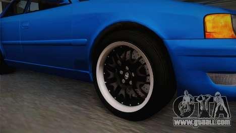 Toyota Chaser Tourer V for GTA San Andreas back view