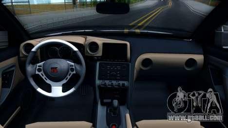 Nissan GT-R R35 Rocket Bunny v2 for GTA San Andreas inner view