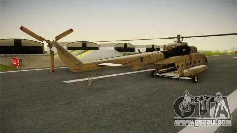 Mil Mi-8 MTV-1 Croatian Air Force for GTA San Andreas left view