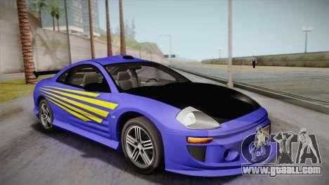 Mitsubishi Eclipse GTS Mk.III 2003 IVF for GTA San Andreas