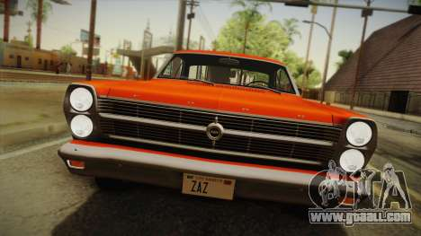 Ford Fairlane 500 1966 IVF for GTA San Andreas back left view