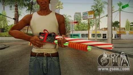 Vindi Xmas Weapon 2 for GTA San Andreas third screenshot