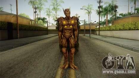 Marvel Future Fight - Groot (Secret Wars) for GTA San Andreas second screenshot