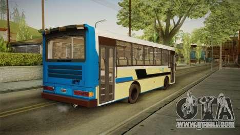 Bus Carrocerias for GTA San Andreas left view