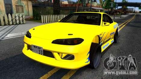 Nissan Silvia S15 Huxley Motorsport for GTA San Andreas