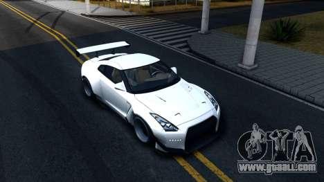Nissan GT-R R35 Rocket Bunny v2 for GTA San Andreas right view