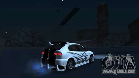 2003 Seat Leon Cupra R Series I for GTA San Andreas engine