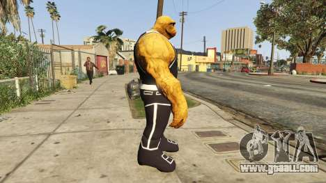 GTA 5 The Thing Black Jersey second screenshot