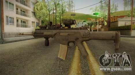 ARX-160 Tactical v2 for GTA San Andreas third screenshot