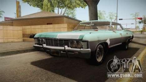 Chevrolet Impala 1967 for GTA San Andreas
