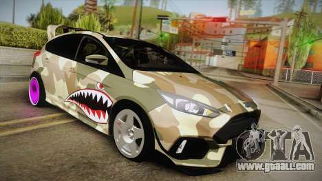 Ford Focus RS 2017 4x4 Drift for GTA San Andreas