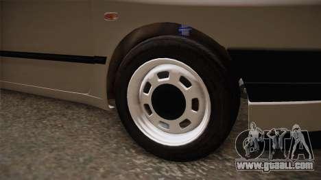 Seat Ibiza 1995 SWAP 1.6 for GTA San Andreas back view