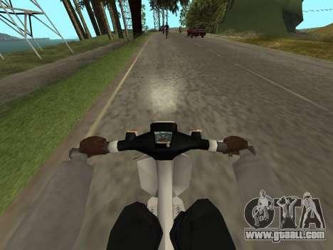 Honda GLX for GTA San Andreas back view