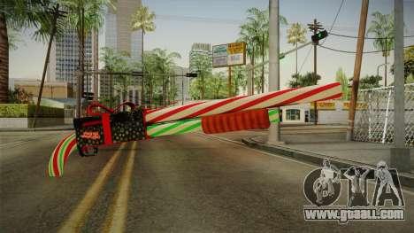Vindi Xmas Weapon 2 for GTA San Andreas