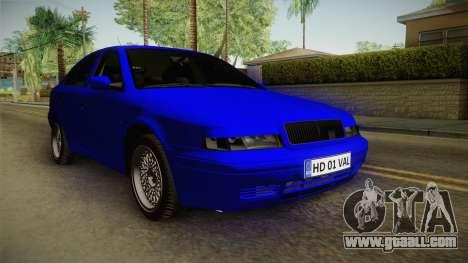 Skoda Octavia Simply Clean for GTA San Andreas