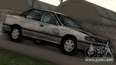 Subaru Legacy RS for GTA San Andreas side view