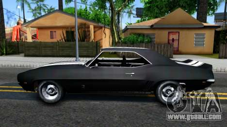 Chevrolet Camaro 1969 for GTA San Andreas left view