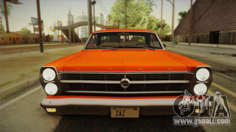 Ford Fairlane 500 1966 IVF for GTA San Andreas side view