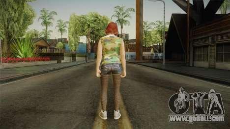 GTA 5 Online DLC Female Skin for GTA San Andreas third screenshot