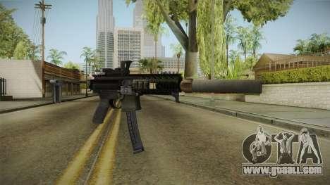 Battlefield 4 - SIG MPX for GTA San Andreas