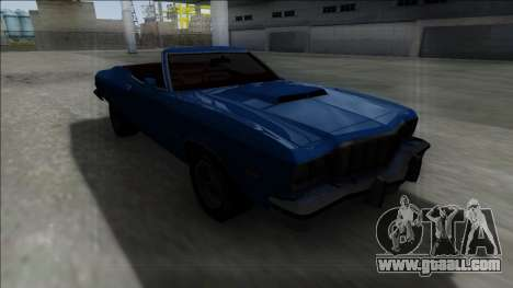 1975 Ford Gran Torino Cabrio for GTA San Andreas left view