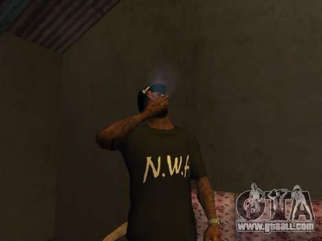 Pack Clothes N.W.A To Cj HD for GTA San Andreas second screenshot