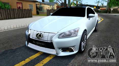 Lexus LS XF40 for GTA San Andreas