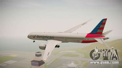 Boeing 787 American Airlines for GTA San Andreas right view