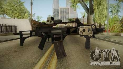 Battlefield 4 - HK G36C for GTA San Andreas