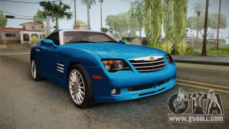 Chrysler Crossfire SRT-6 2006 for GTA San Andreas right view
