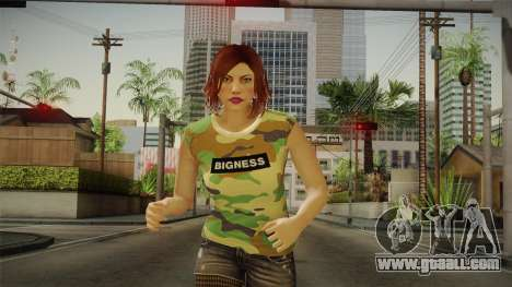 GTA 5 Online DLC Female Skin for GTA San Andreas