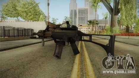 Battlefield 4 - HK G36C for GTA San Andreas second screenshot