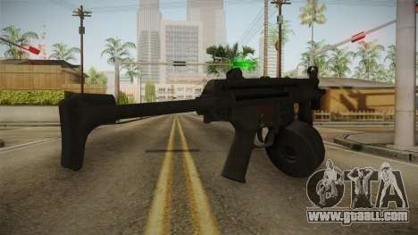 MP-5K Drum Mags for GTA San Andreas second screenshot