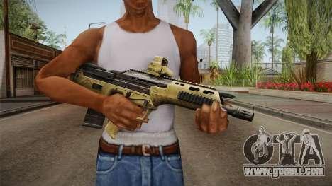 DesertTech Weapon 2 for GTA San Andreas third screenshot